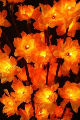 """Amber Plum Nouveau 60 Light LED 20"""" [184148]"""