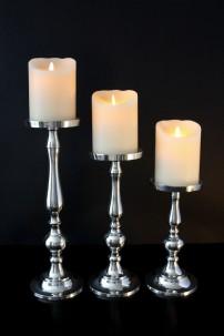 Aluminum Candle Holder (Set of 3) [201101]