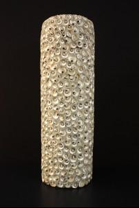 """Ceramic Seashell Vase 8""""W, 24""""H [201276]"""