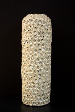 """Ceramic Seashell Vase 7""""W, 19""""H [201277]"""