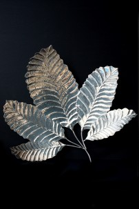 """Steel Leaf Wall Decor 36""""W, 35""""H [201286]"""