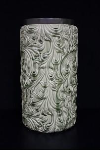 """Ceramic Vase 10""""W, 19""""H [201342]"""