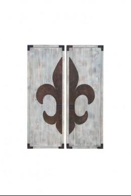 "Wood Panel (Set of 2) 48""H, 16""W [201359]"