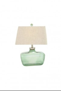 "Glass Fillable Table Lamp 27""H [201362]"