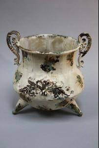 """Metal Vase 11"""", 11"""" [201387]"""