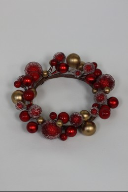 """Red, Gold Ring 4"""" [220132]"""