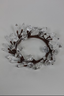 "Diamond Ring, Clear 4"" [220136]"