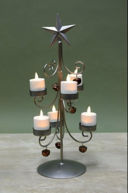 Bell Votive Tree 6 Count 230129