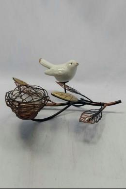 Brown Bird's Nest Votive 1 Count 230134