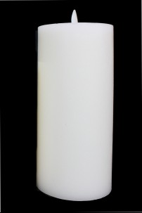"3.5"" x 7.75"" TRADITIONAL PILLAR LEVEL TOP CANDLE [312307]"