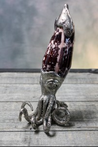 Pewter Squid with Shell [374311]