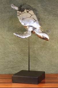 Metal Turtle with Stand [376019]