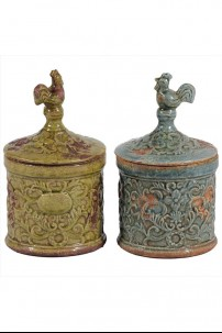 Ceramic Jar (Set of 2) [393104]