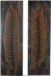 Wall Wood Decor - 2 Assorted [393107]
