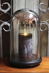 Black Chrome Bell Jar 393113
