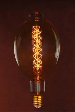 Edison Bulb, Gold, BT180-F5 120V 100W [394162]