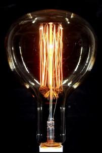 Edison Bulb, Gold R180-F2, 100W [394164]