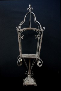 "Lantern - Gaslamp Quarter, Black, Height: 27.5"" [901201]"