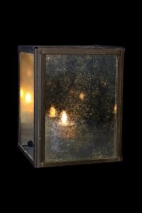 "Infinity Mirror Hanging Wall Lantern 6""H x 4.5""W  [901240]"