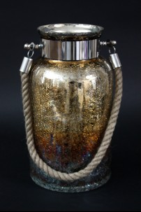 "Glass Jar with Handle, Height: 13"" [901268]"