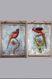 Colorful Birds Set of 2 901287