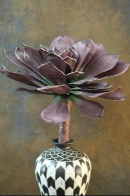 Purple Foam Flower 26 Inch [FF1104]