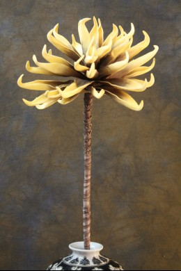 Yellow Foam Flower 34 Inch [FF1880]