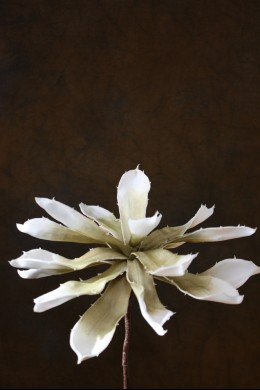 Cream Foam Flower 9 Inch [FF2010]