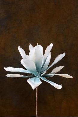 Blue & White Foam Flower 9 Inch [FF2015]
