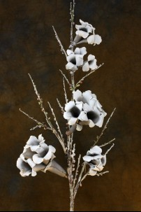 Grey-White Foam Flower 34 Inch [FF2075]