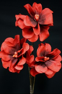 "Red Foam Flower 40"" [FF2263]"