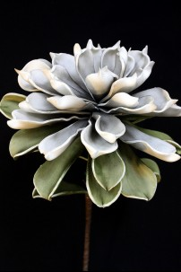"Grey & Green Foam Flower 27"" [FF2265]"