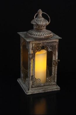 "Moroccan Café Lantern, Height: 13"" [L5002]"