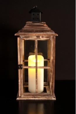 "English Countryside Lantern Height: 23"" [L5006]"