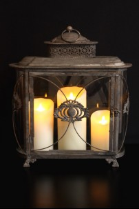 "Country Manor Lantern Height 18"" [L5011]"