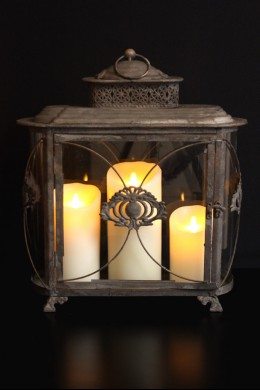 """Country Manor Lantern Height 18"""" [L5011]"""