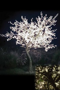 2120 Light 9' Blossom Tree, Warm White LEDs [TREBL2120]