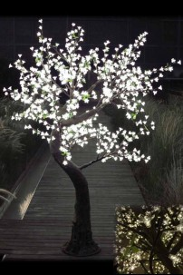880 Light 7' Blossom Tree, Warm White LEDs [TREBL880]