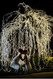 4100 Light 9' Willow Tree, Warm White LEDs [TREWIL4100]