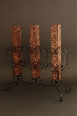 Triple (Bronze & Metal) Vase [TRVSBR]