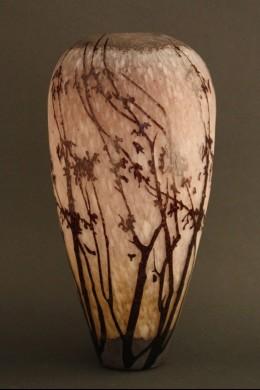 Etched Branch Vase 15 Inch [V1100]