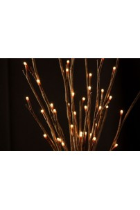 Willow Branch with 60 Incandescent Bulbs [WLWB60]