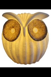 """OUT OF STOCK 9.25""""H OWL LAMP [480738]"""